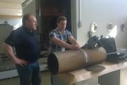 Обследование трубы дефектоскопом