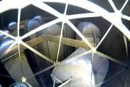 Квадрокоптер в газовой турбине