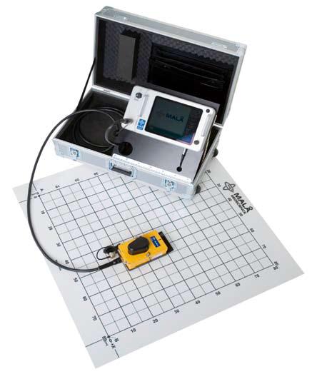 MALA GPR CX System