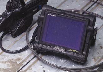 Фотография iPLEX RX, работающего от автономного источника питания в дождливую погоду