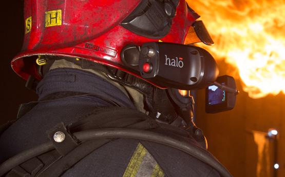 HALO - тепловизор для пожарных