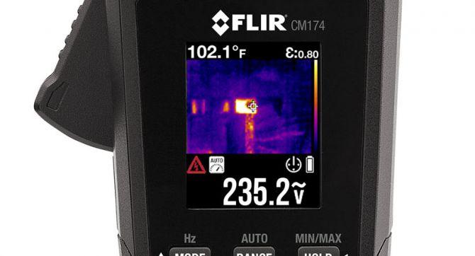 Клещи с тепловизором FLIR CM174