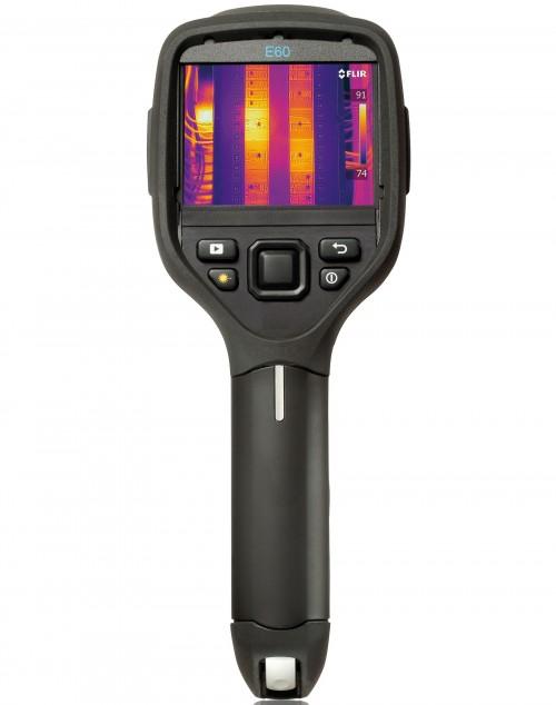 FLIR E60 bx обследование электрики в доме