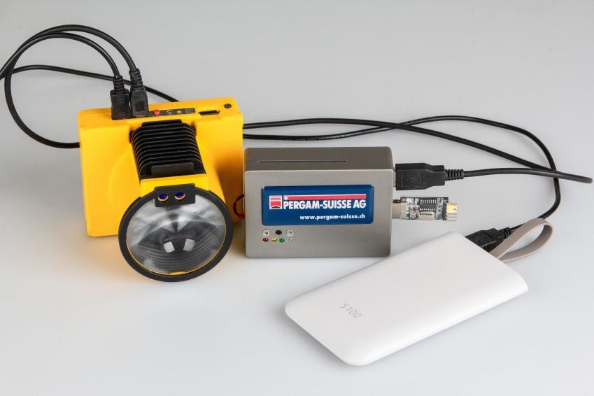 Детектор Laser Falcon с логгером