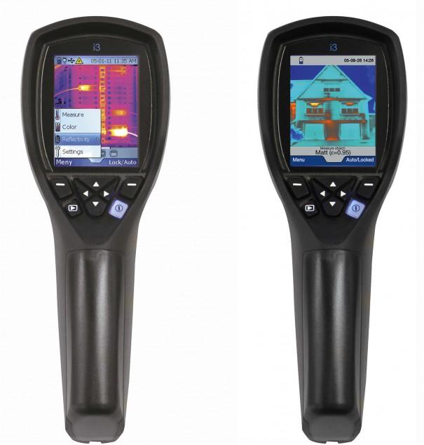 Тепловизор FLIR i3 - недорогой тепловизор для бытовых нужд