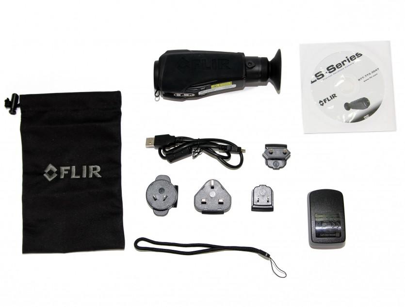 Комплект поставки тепловизора для охоты FLIR LS-64