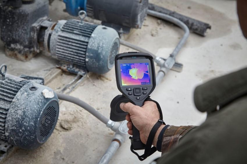 Тепловизор FLIR E86 для обследования механизмов