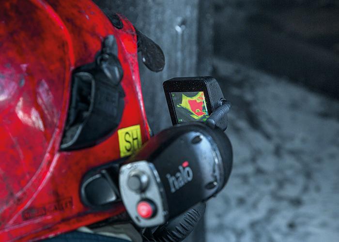 HALO - пожарный тепловизор