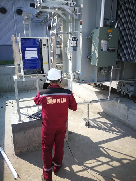 Пример установки системы GE DGA 500 специалистами компании