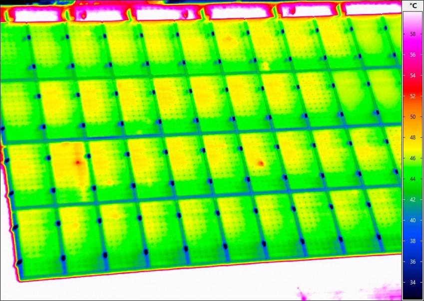 Термограмма с VarioCAM HD inspect 600