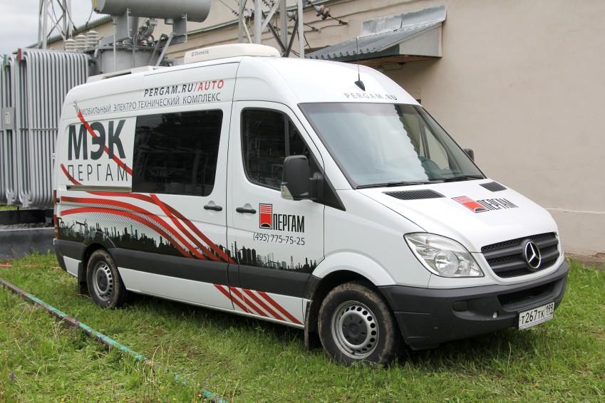 Передвижная электролаборатория Пергам МЭК-4