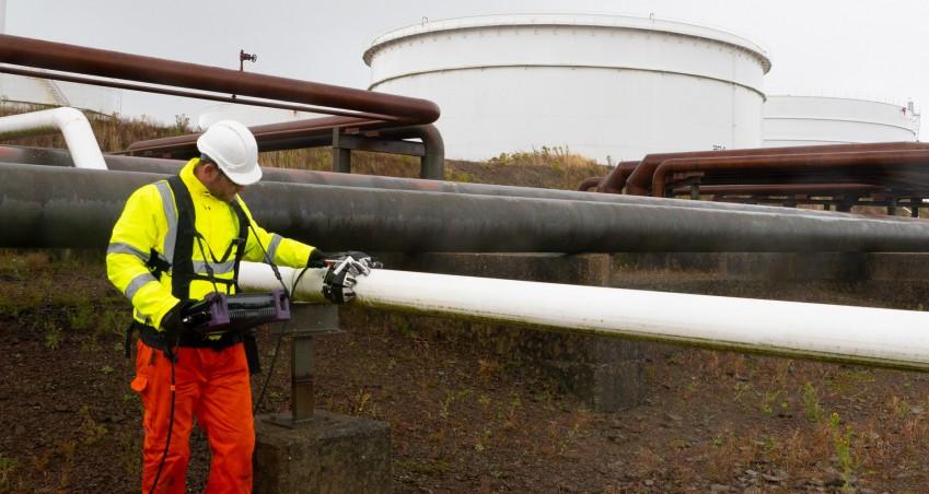 Обследование трубопровода