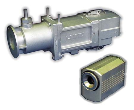 Инфракрасный пирометр для контроля производства стекла