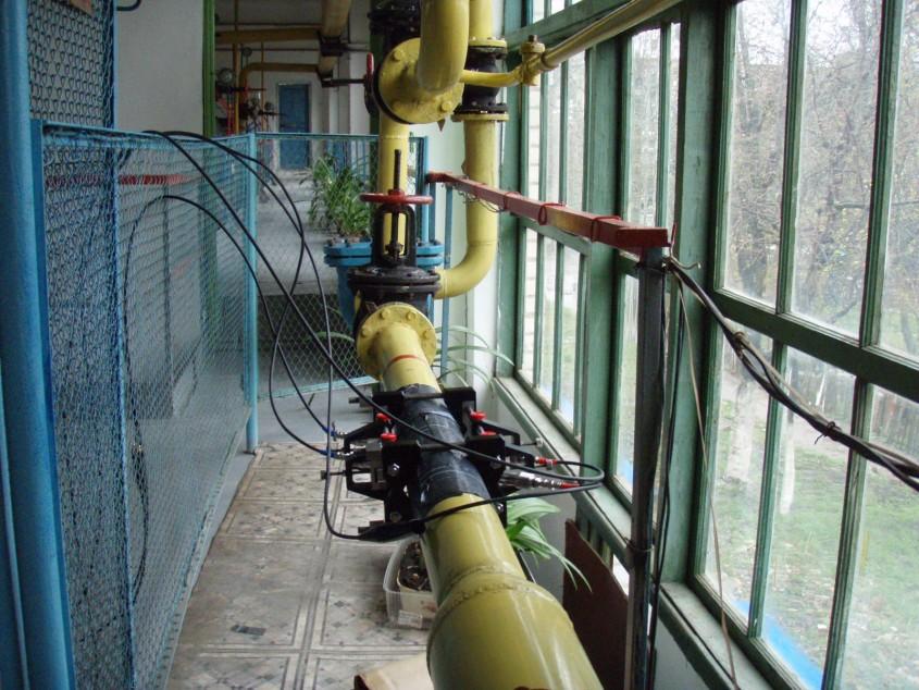 Измерение расхода природного газа в котельной