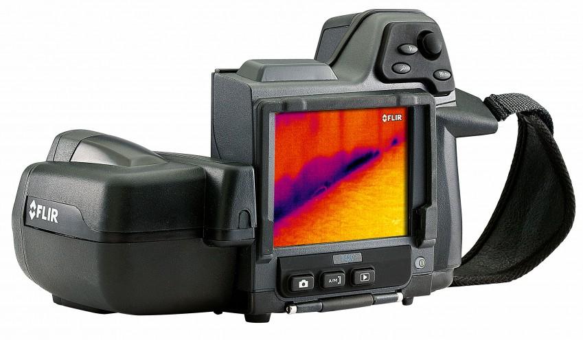 Экран тепловизора FLIR T420