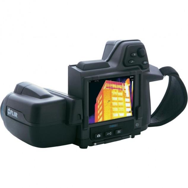 Обследование жилого дома тепловизором FLIR T420bx