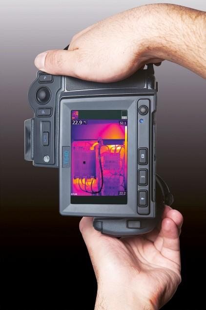FLIR T640 впечатляющее качество ИК-изображения