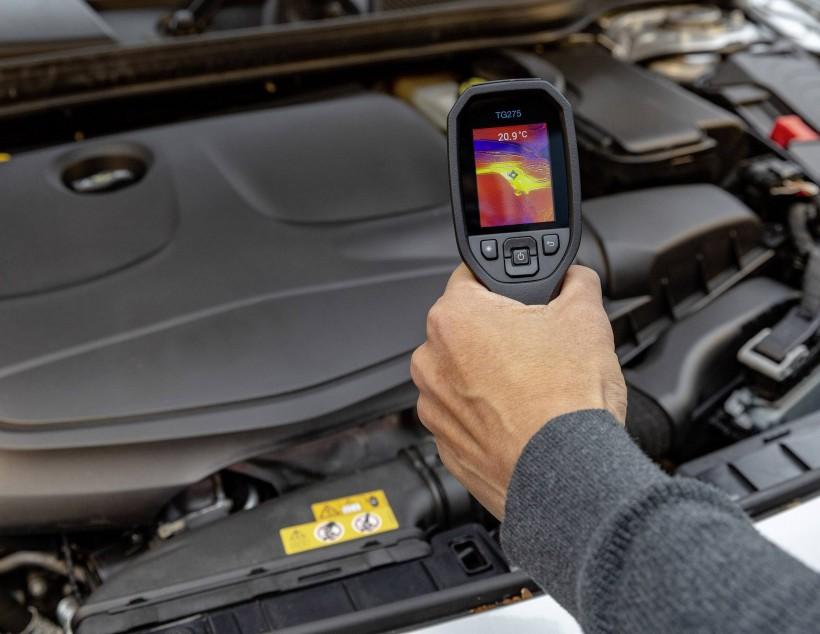 Тепловизор для диагностики автомобилей