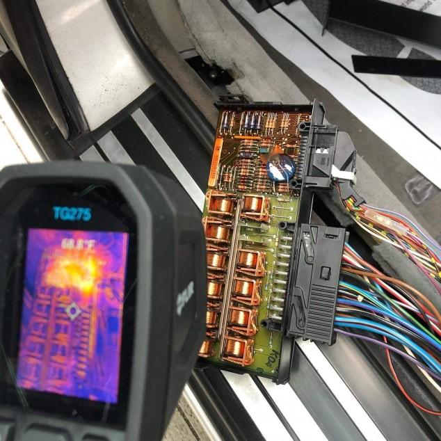Тепловизор для диагностики электрики в авто