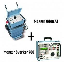 Комплект для испытаний оборудования релейной защиты (ODEN AT + SVERKER 780)