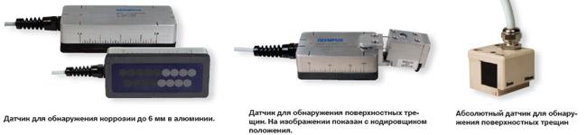 Вихретоковые матричные датчики для OmniScan MX ECA