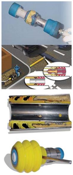 Вставка систем видеоконтроля в действующие газопроводы